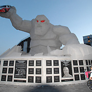Dover Down Monster Statue