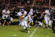 Water Valley's E.J. Bounds (5) runs vs. Mooreville in Mooreville, Miss. on Friday, September 30, 2011. Water Valley won 21-20 in overtime.