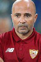 14.09.2016 - Champions League - Juventus-Siviglia - nella foto : Jorge Sampaoli allenatore del  siviglia