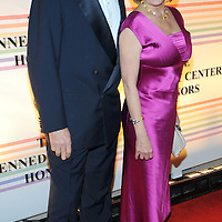House Speaker Nancy Pelosi and husband Paul attends the 31st annual Kennedy Center Honors, at the John F Kennedy Center for the Performing Arts in Washington, DC on December 07, 2008