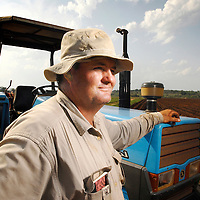 Vanduzi, Manica province, Mozambique (next to the border of Zimbabwe) <br /> 21 November 2007<br /> Kevin Gifford, 37 years old, was given 6 hours in a March 2002 day to leave the 2000 ha farm owned by his family since the late 19th century.<br /> He's the last of a group of 37 farmers who settled in this part of Mozambique after Mugabe started his land reform. He explained to the journalist why he refuses to hire any of the thousands of Zimbabweans that cross the border to look for a job in Mozambique:&quot; Whoever didn't adopt an attitude to save the country, must pay for that. If somebody only stays to see what happens, scared of saying &quot;stop, this also is my life&quot;, then this person must live with that. Because I defended what I believed in, which was not only a personal question, but a national preoccupation, the one about maintaining Zimbabwe as a productive country, I paid the price: that was to see my house looted and to be expulsed from my farm without any compensation. This is the reason why I don't have feelings for a Zimbabwean that has not done anything to stop what occurred, because everybody must fight to defend what is correct. &quot;<br /> Photo: Ezequiel Scagnetti