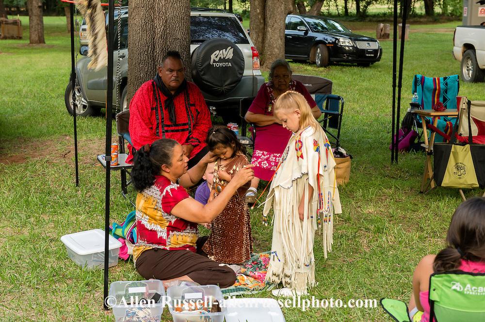 Caddo Indians, Native Americans, kids, girl, families, Caddo Nation Vice Chairman Philip Smith, J T Morrow Pow Wow, Binger Oklahoma