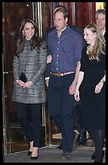 DEC 08 2014 Duke and Duchess of Cambridge New York-Day 2
