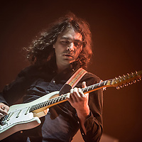 Adam Granduciel, leader of the American band The War On Drugs live at the Brixton Academy in London on 24 February 2015