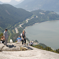 Hiking the Chief Squamish BC Canada