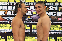 July 20, 2012; Cincinnati, OH; USA; Images from the HBO Boxing After Dark fight between Keith Thurman and Orlando Lora.  All Photos HBO Usage ONLY.