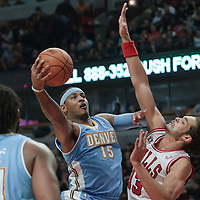 11-08 Nuggets at Bulls