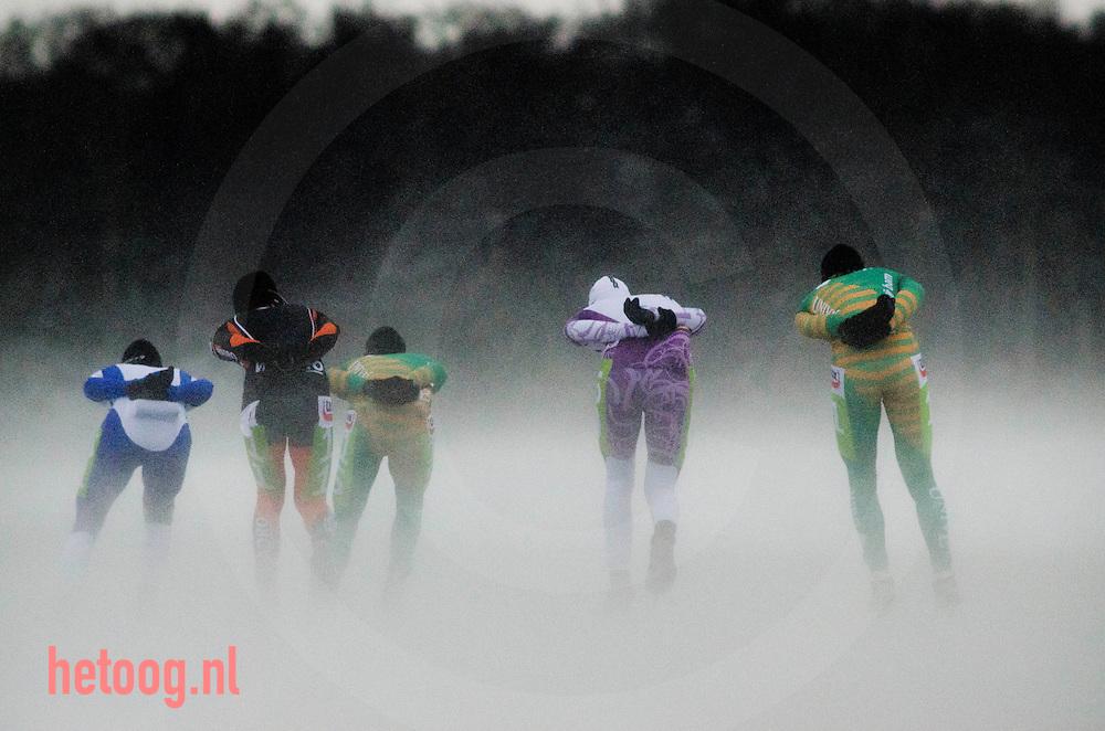 Nederland nederlands kampioenschap natuurijs belterwiede overijssel 23dec2010