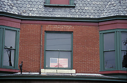 Design image american flag window
