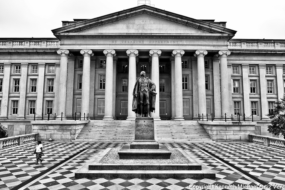 Treasury Department in Washington D.C. our Nation's Capital.