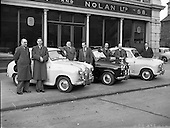 1958 – 03/04 Circuit of Ireland Drivers at Lincoln and Nolan