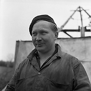Working in the Mines, Clontibret, Co Monaghan.04/041957