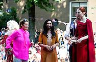 AMSTERDAM - Conchita Wurst De botenparade van de Gay Pride 2016.  COPYRIGHT ROBIN UTRECHT