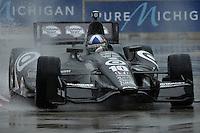 Dario Franchitti, Cheverolet Indy Dual in Detroit, Belle Isle, Detroit, MI USA 06/01/13