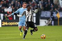 can - 22.01.2017 - Torino - Serie A 2016/17 - 21a giornata  -  Juventus-Lazio nella  foto: Kwadwo Asamoah