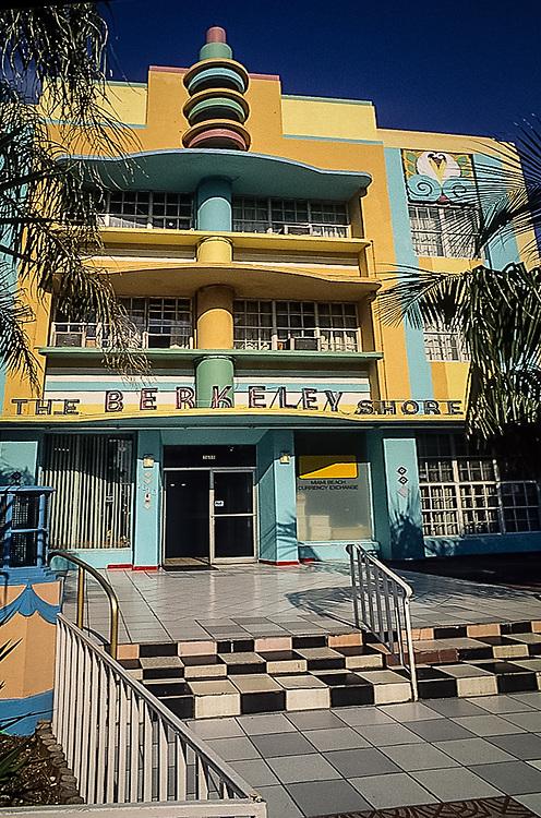Berkley Shores Hotel, Miami Beach, Florida