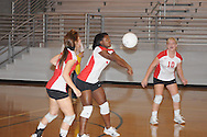 Lafayette High vs. Byhalia in volleyball action in Oxford, Miss. on Tuesday, September 14, 2010.