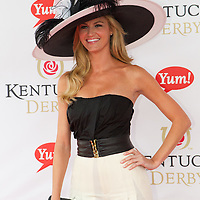 Entertainment - Erin Andrews - Celebrities at 2011 Kentucky Derby - Louisville, KY