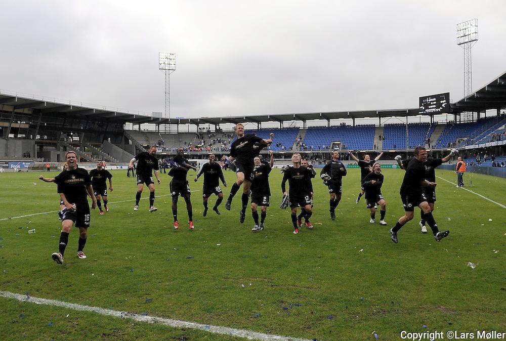 DK Caption:<br /> 20090524, Esbjerg, Danmark:<br /> SAS Liga fodbold Esbjerg - FC K&oslash;benhavn:<br /> FCK vinder DM 2009<br /> Foto: Lars M&oslash;ller<br /> UK Caption:<br /> 20090524, Esbjerg, Denmark:<br /> SAS Liga football Esbjerg - FC Copenhagen:<br /> FCK win the championship 2009<br /> Photo: Lars Moeller