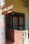 Photographer's studio in San Cristobal, Artemisa, Cuba.