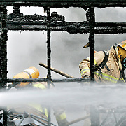 A cabin on Squatters Road that was closed down by the Safer Communities and Neighbourhoods Act caught fire early Saturday morning. The cause is under investigation, but is considered as suspicious.