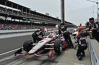 AJ Allmendinger, Indianapolis 500, Indianapolis Motor Speedway, Indianapolis, IN USA 05/26/13