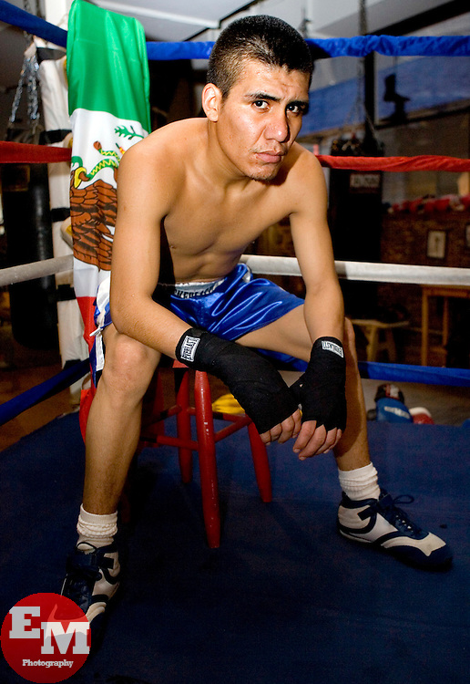 January 23, 2007; New York, NY - Photo Shoot with featherweight contender Guadalupe Rosales