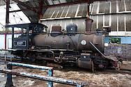 Old train in Rafael Freyre, Holguin, Cuba.