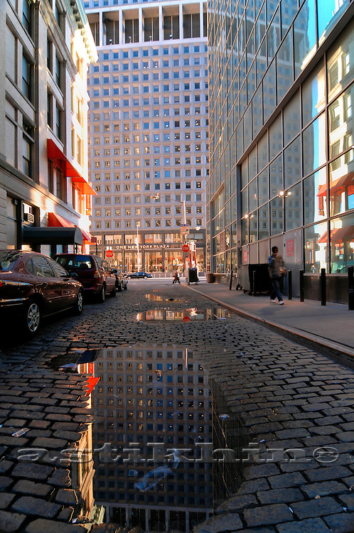 Reflection in Manhattan