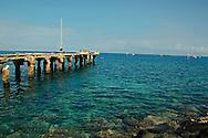 Mala Pier, Topside View, Maui Hawaii