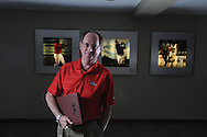 Langston Rogers, assistant athletic director for sports information at the University of Mississippi, photographed on Thursday, April 29, 2010.