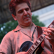 Jazz guitarist Roni Ben-Hur performs with Jazz Artist Dianne Schuur in front of a large crowd at the 26th annual duPont Clifford Brown Jazz Festival Wednesday, June 18, 2014, at Rodney Square Park in Wilmington, DEL.    <br /> <br /> &ldquo;The Clifford Brown Jazz Festival is a staple of Wilmington&rsquo;s performing arts culture,&rdquo; said Mayor Dennis P. Williams. &ldquo;The City is excited to celebrate the 26th anniversary and I hope the community gets involved and enjoys all of the many activities the festival has to offer.&rdquo;