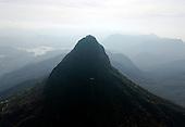 Sri Lanka. New aerial images of Adams Peak