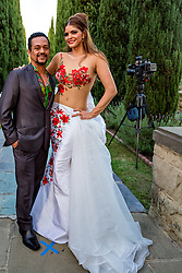 BEVERLY HILLS, CA - OCT 26  Mexican Diva and Singer Ana Barbara walks the red carpet with a creation by Designer Adan Terriquez at the Metropolitan Fashion Week closing gala held at the GreyStone Mansion in Beverly Hills, USA. 2014 Oct 26. Byline, credit, TV usage, web usage or linkback must read SILVEXPHOTO.COM. Failure to byline correctly will incur double the agreed fee. Tel: +1 714 504 6870.