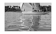 140714_ISON_Panerai_Classics<br /> Stephen O'Flaherty's sloop, Soufriere at the Panerai British Classic Week sailing regatta off Cowes, Isle of Wight. <br /> Picture date Monday 14th July, 2014.<br /> Picture by Christopher Ison. Contact +447544 044177 chris@christopherison.com