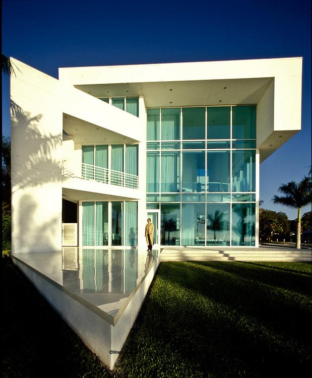Theisen house on Sarasota Bay, Sarasota, Florida