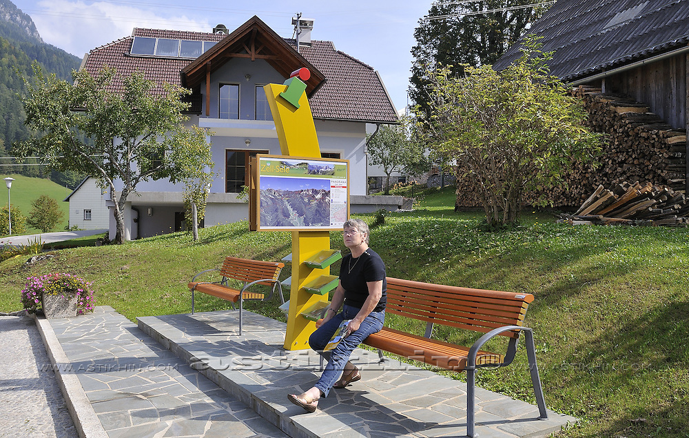 Information place in Zell-Sele
