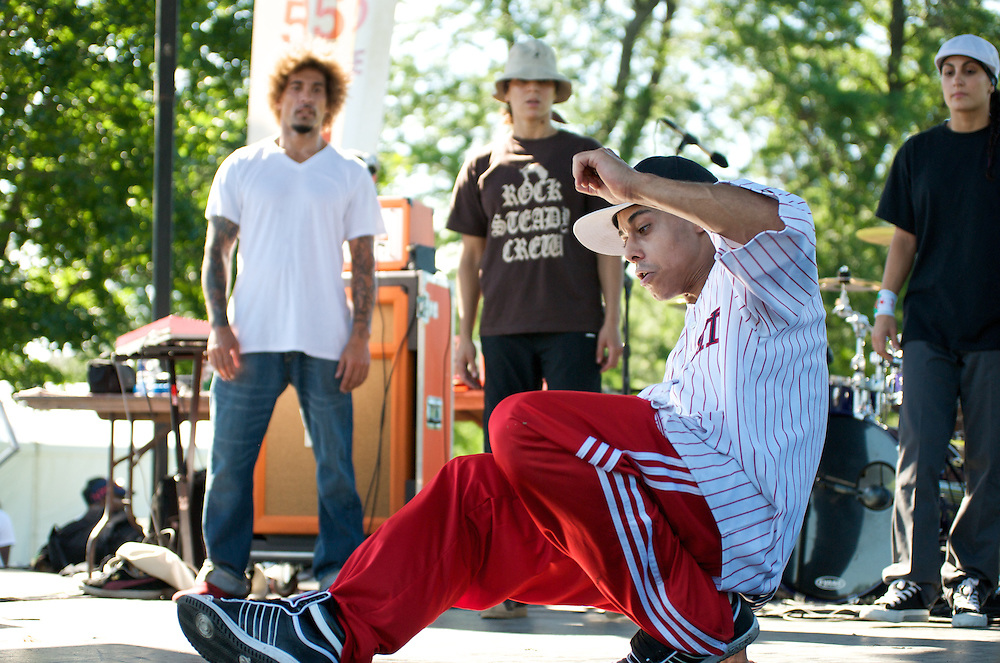 The Rock Steady Crew at Takin' It to the Streets