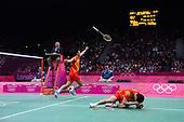 Badminton, Mens - Doubles Gold Medal Match