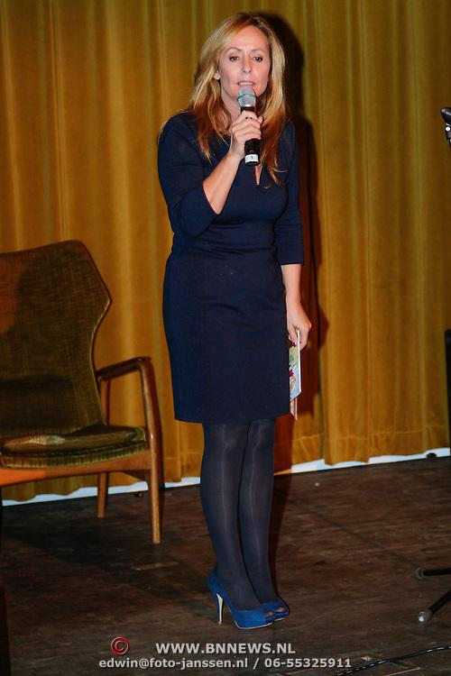NLD/Amsterdam/20120924- Boekpresentatie Paula en Khalilo geschreven door  Angela Groothuizen,