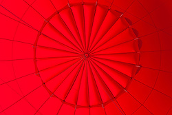 """Inside a Hot Air Balloon 1"" - Photograph of the inside of a hot air balloon shot while standing in the basket."
