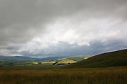 A break in the storm seen  from Conrig Hill, near Sanquhar, Southern Uplands, Scotland