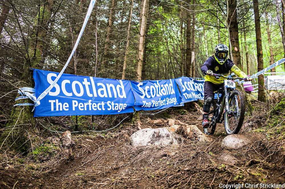 Nevis Range, Fort William, Scotland, UK. 4th June 2016. The worlds leading mountain bikers descend on Fort William for the UCI World Cup on Nevis Range.