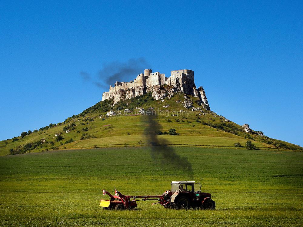 Spis Castle, Eastern Slovakia.
