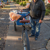 """I come to sell in Calistoga two days a week.""  -Santa Rosa street vendor Alberto Santo on Washington Street in Calistoga"
