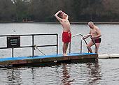 Icy Serpentine Swim - Hyde Park