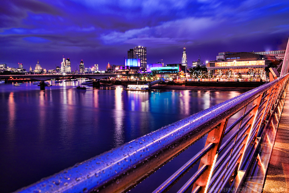 Hungerford Bridge & River Thames