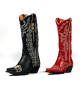 SHOT 11/27/2006 - High end cowboy boots from Cry Baby Ranch on Larimer Square in Denver, Co..(Photo by MARC PISCOTTY)