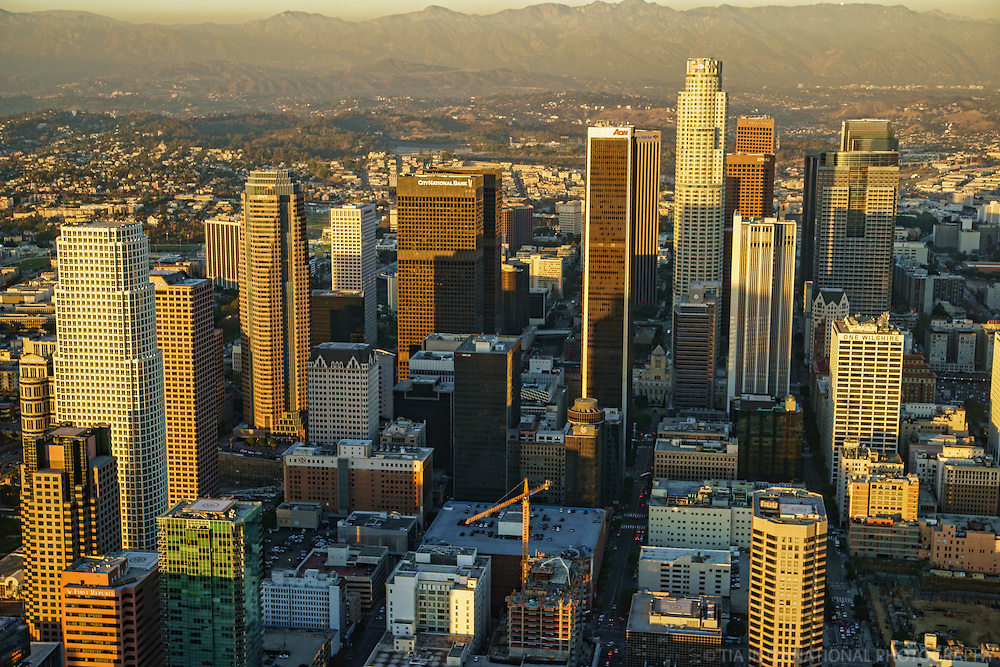 Downtown LA & San Gabriel Mountains
