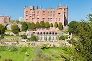 April at Powis Castle